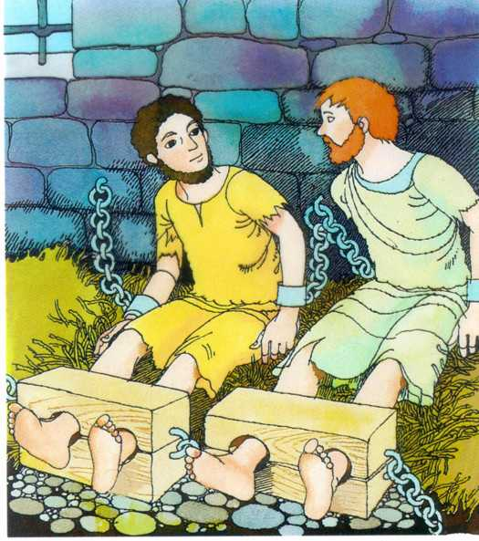the philippian jailer coloring pages - photo#35